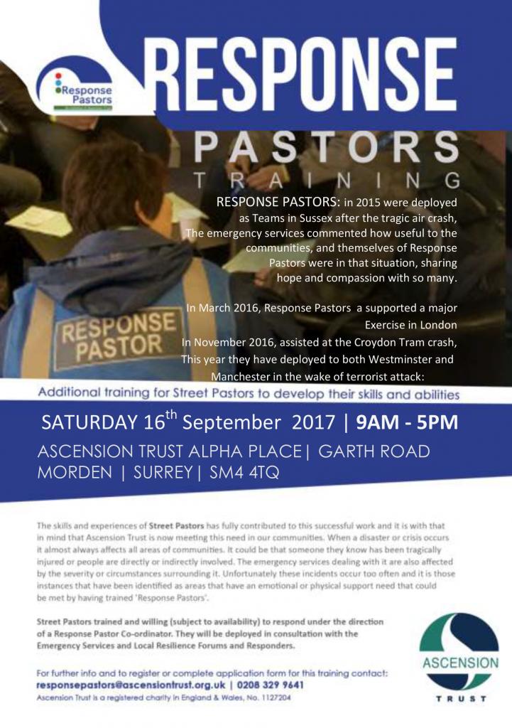 Response Pastors Training